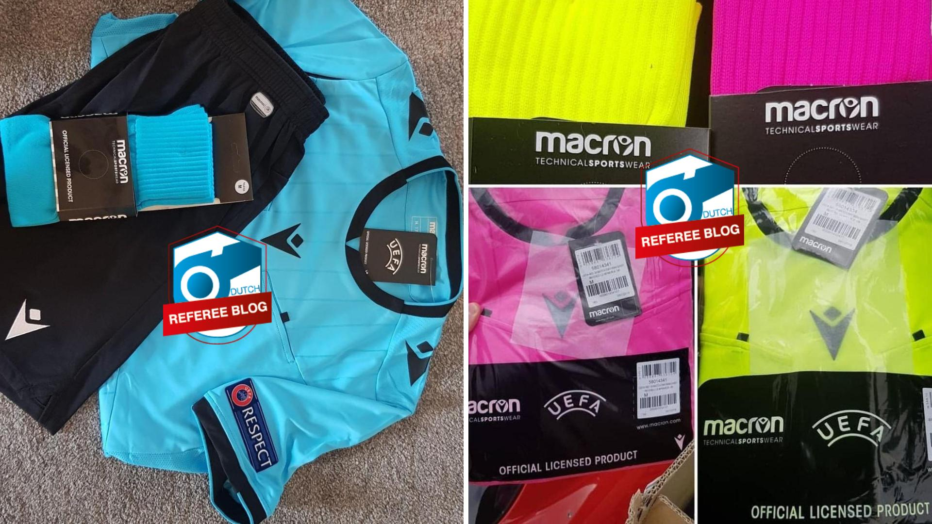 Macron Referee Shirt Uefa Champions League Dutch Referee Blog