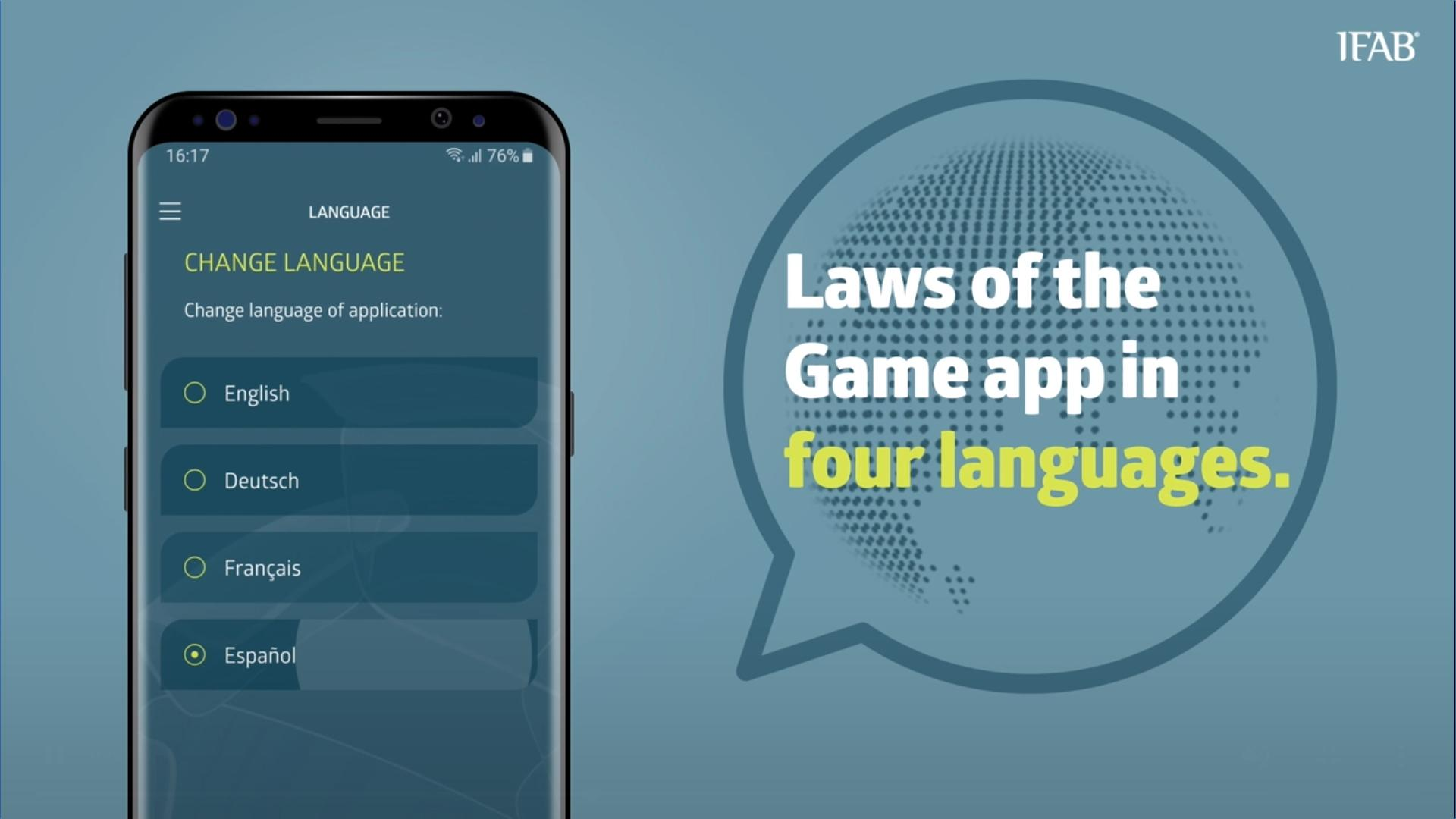 IFAB Laws of the Game App