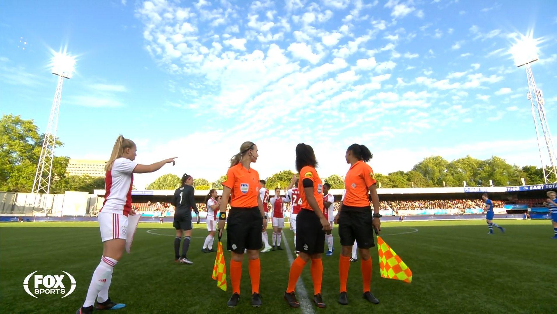 Dutch women's cup final 2019 toss