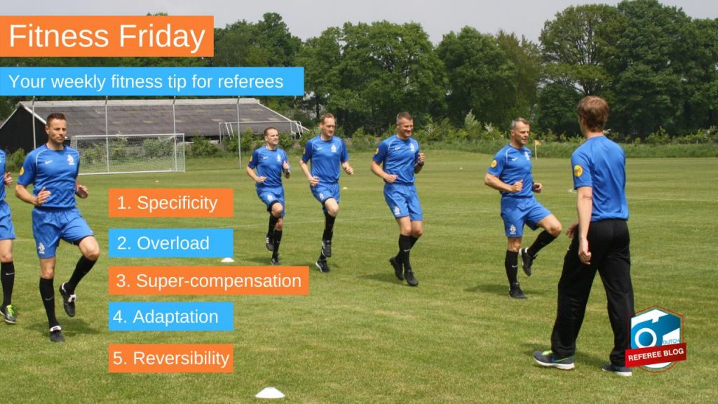 The five principles of training for referees