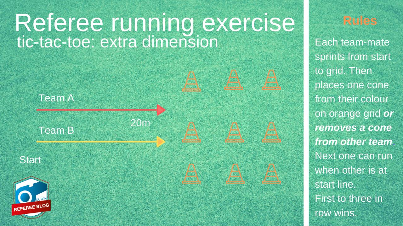 Playful exercise referees