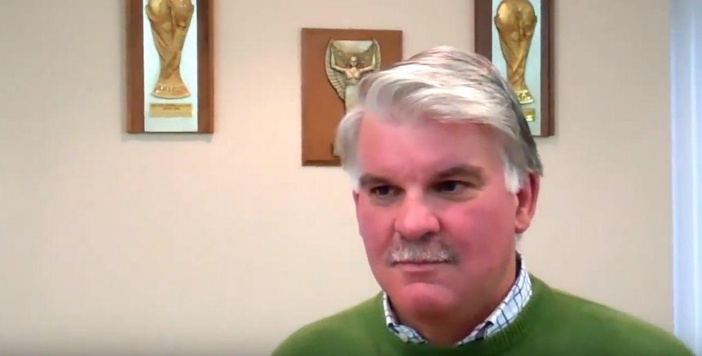 Alan Snoddy on Irish FA tv