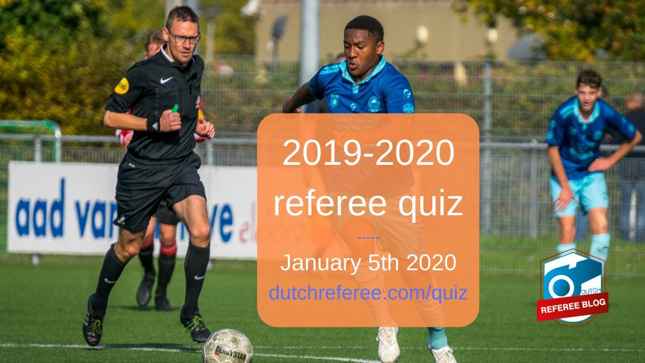 2019 referee quiz image