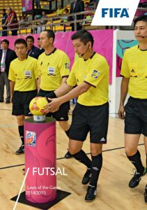 Futsal Laws of the Game cover