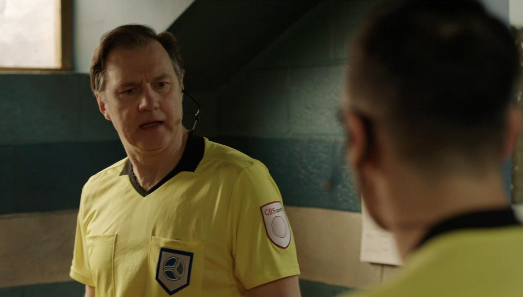Screenshot from referee in series Inside No. 9
